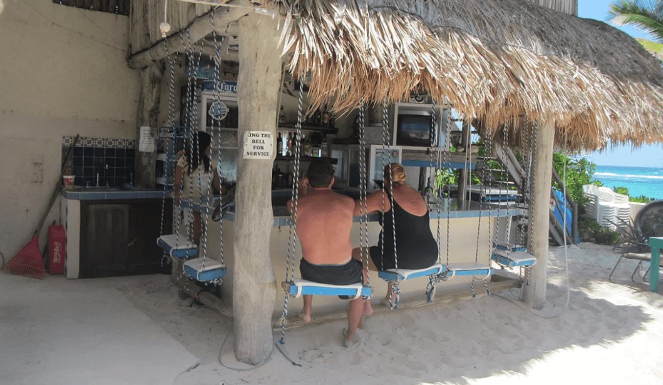 Beached bikini Akumal