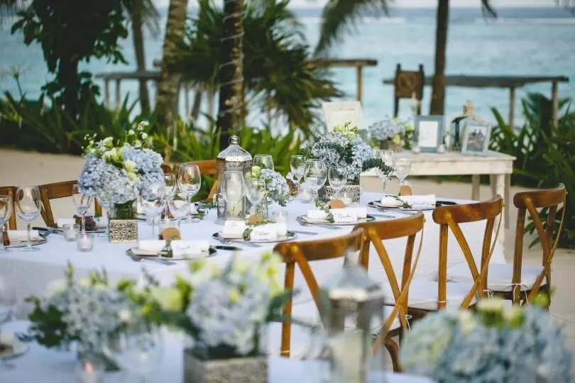 Table setting at Akumal Beach wedding & 10 Best All-Inclusive Riviera Maya Wedding Packages 2018 (with PRICES)