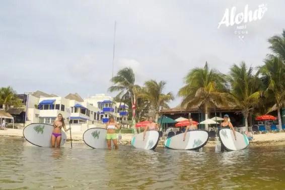 Aloha Paddle Boarding Playa del Carmen