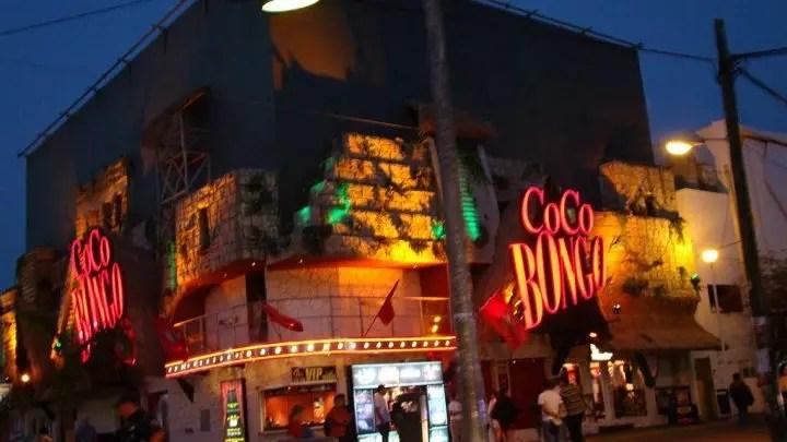 coco bongo exterior
