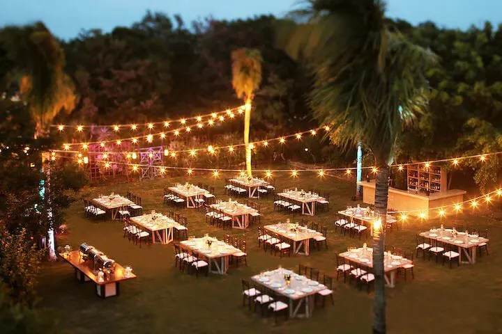 Reception venue for wedding party in Cancun and the Riviera Maya