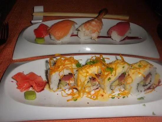 Sushi at Restaurant Maiko