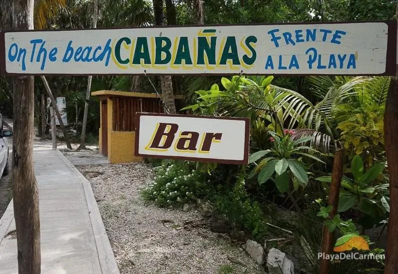 Tulum Hotel Zone Beach Cabanas