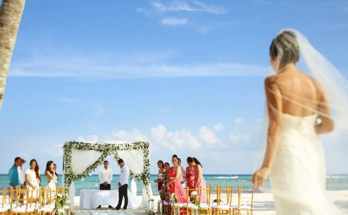average cost of an all inclusive destination wedding in mexico