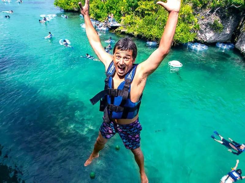 Xel-Ha Cliff Jump