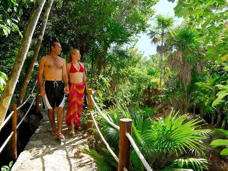 Xel-Ha jungle trails