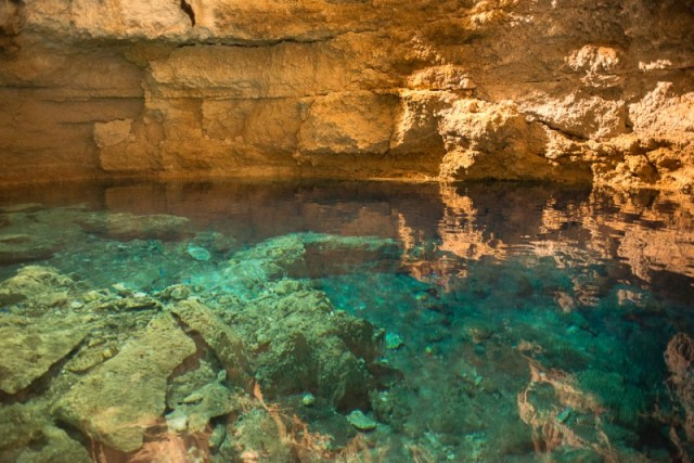 Multun Ha Cenote: the most incredible riot of rock and water color