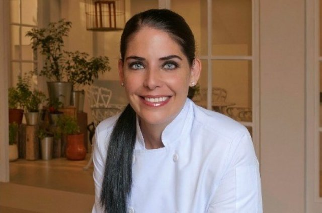 """Chef Zhie Tellez, six seasons on television's """"El Gourmet,"""" as well as her popular restaurant, Jose Guadalupe Platos de Cuchara."""
