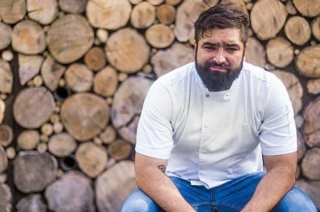 Chef Francisco Ruano of Alcalde restaurant, in Guadalajara