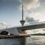 Puente levadiza en La Manga