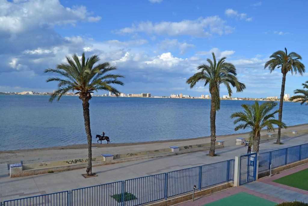 Horse riding in Playa Honda, by the Mar Menor