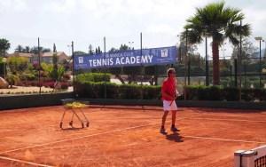 Tennis academy at La Manga Club