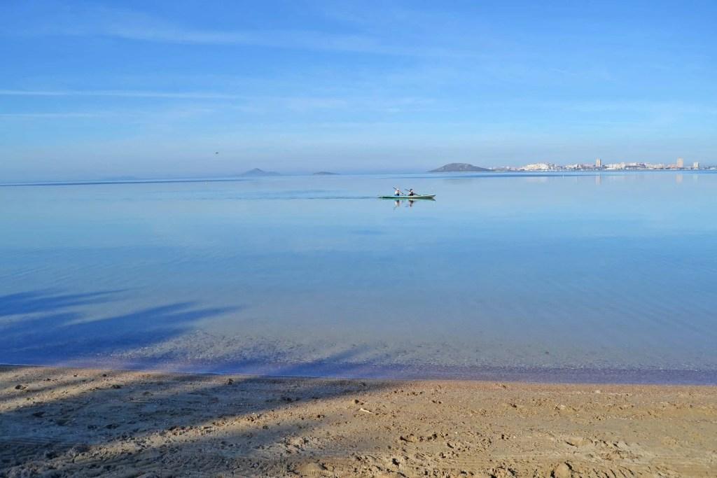 Tranquilidad en Playa Honda - y envidia sana