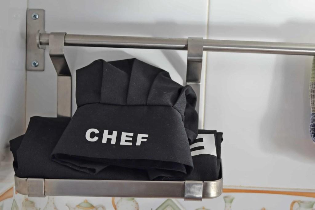 Es un placer cocinar aquí