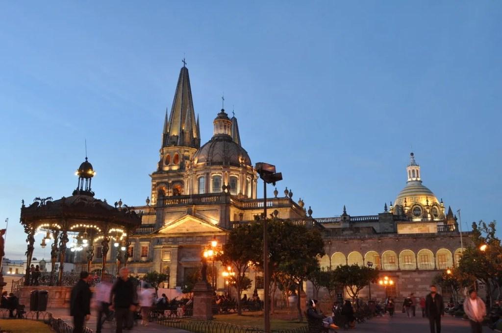 Guadalajara Plaza de Armas
