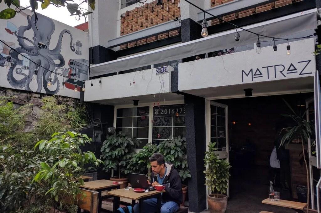 Guadalajara Coffee: Matraz Café