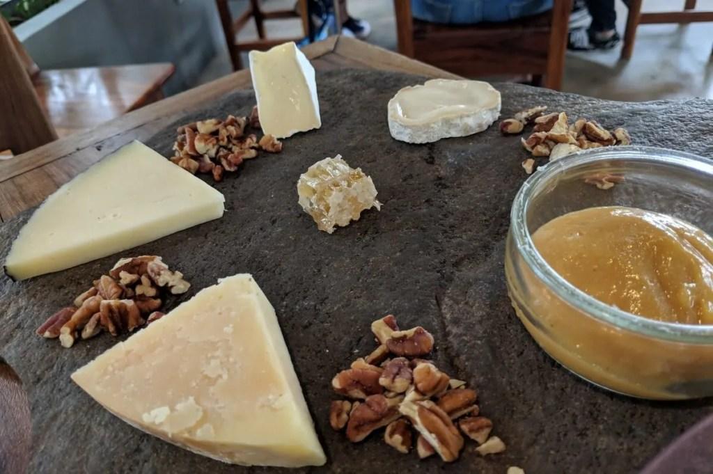 Local Cheese Plate at Allium, Guadalajara