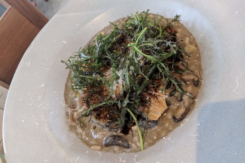 Allium Restaurant Guadalajara huitlacoche risotto