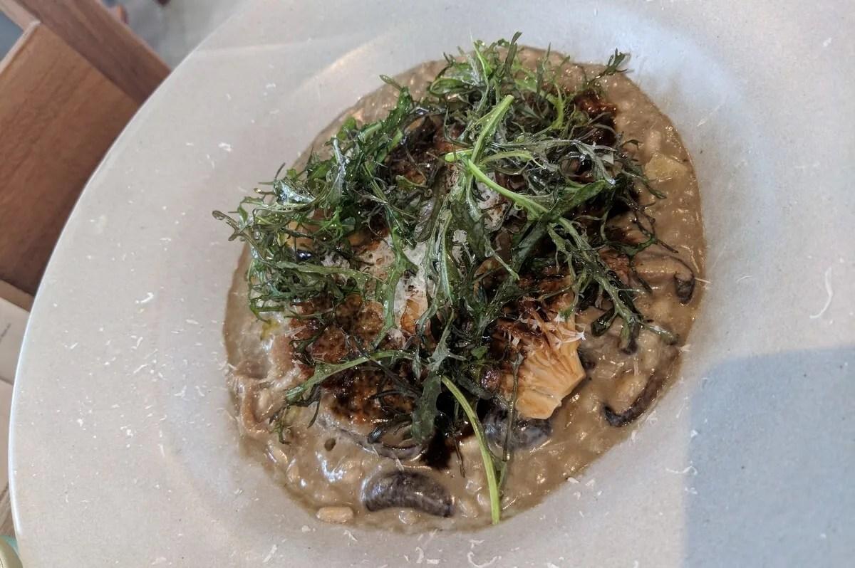 Huitlacoche Risotto, Restaurante Allium, Guadalajara