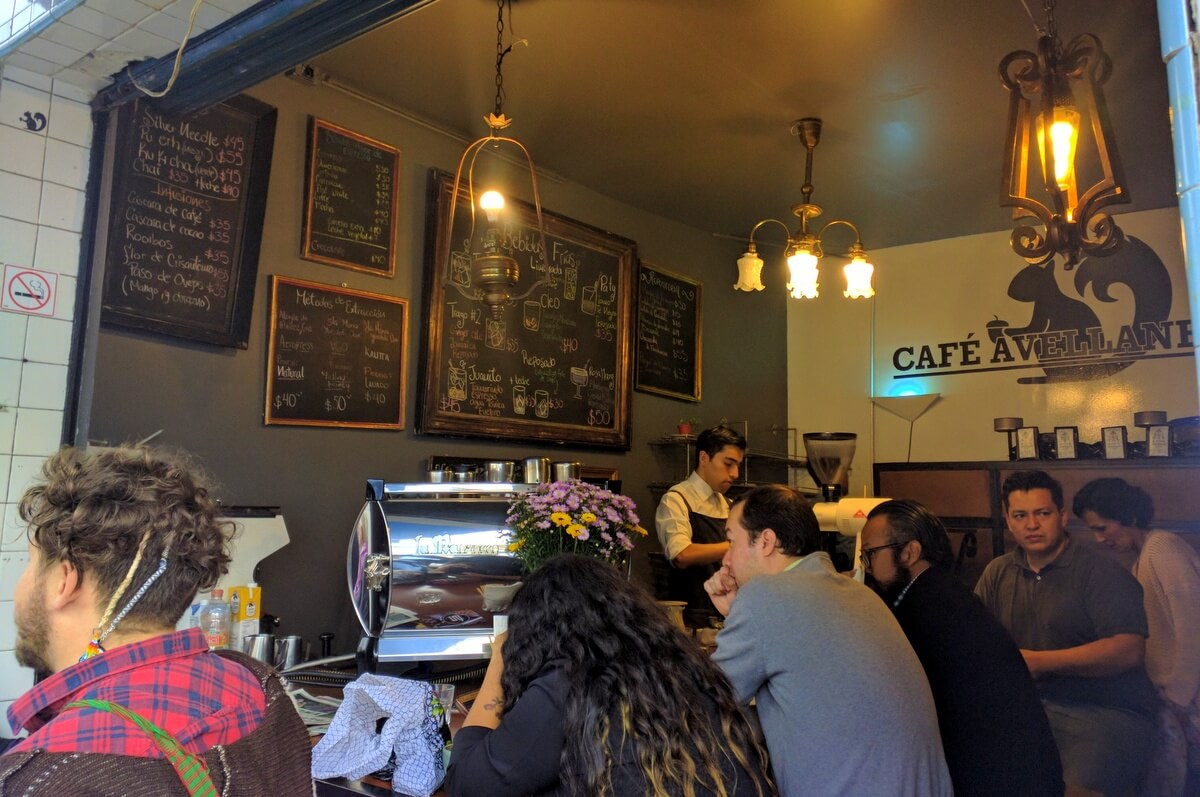 Cafe Avellaneda has the best coffee Mexico City