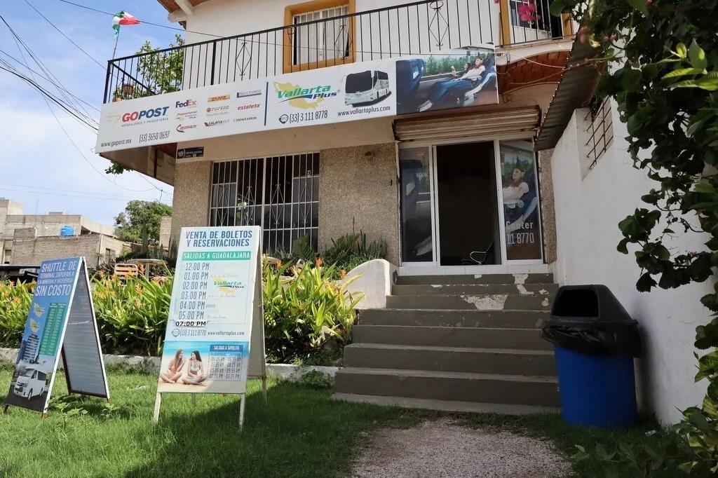 Vallarta Plus Bus Stop in Sayulita