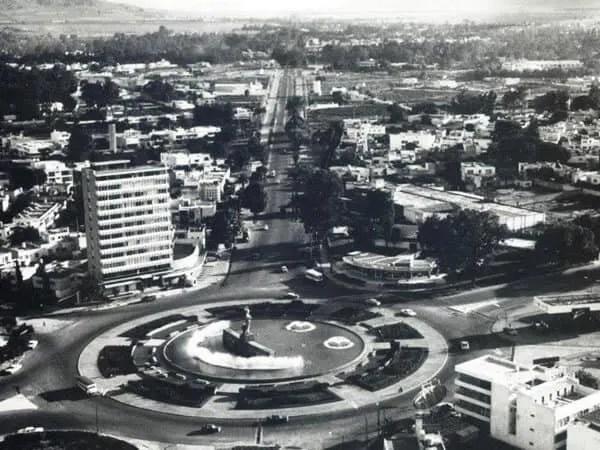 Torre Minerva in the Glorieta Minerva 1970s
