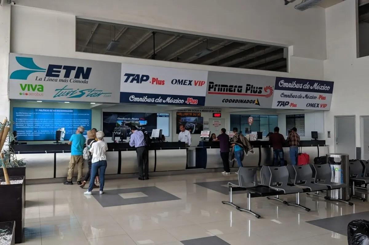 Zapopan Bus Terminal to Puerto Vallarta