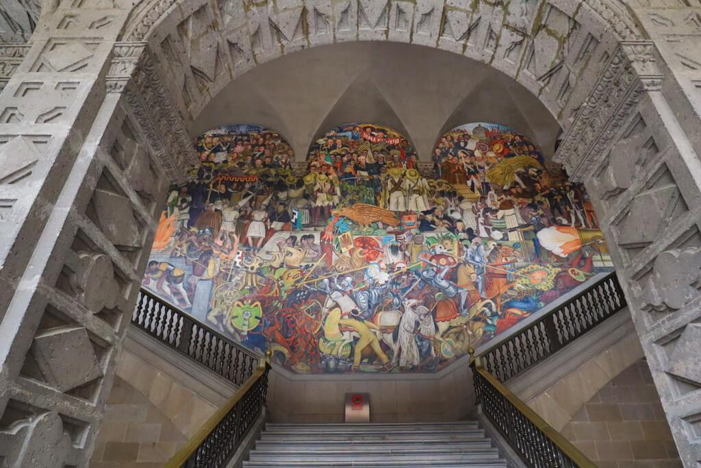 Diego Rivera Murals in the National Palace