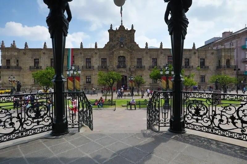The coolest things to do in Guadalajara Plaza de Armas Centro Historico