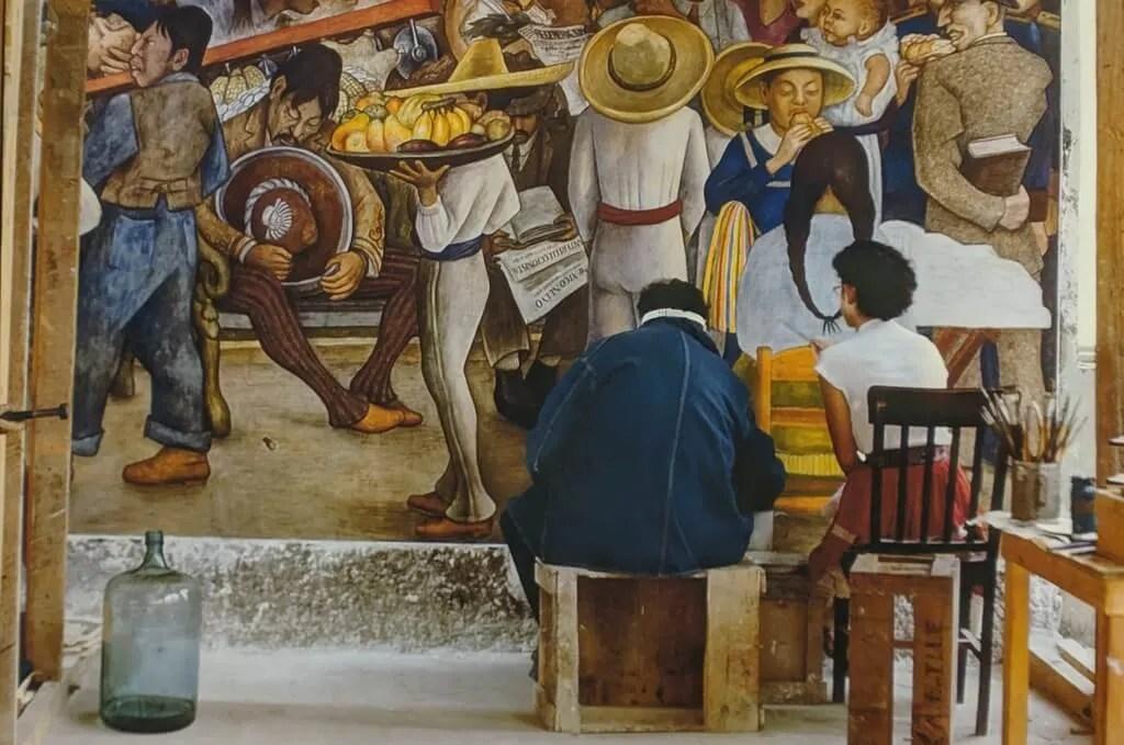 Diego Rivera Murals in Mexico City