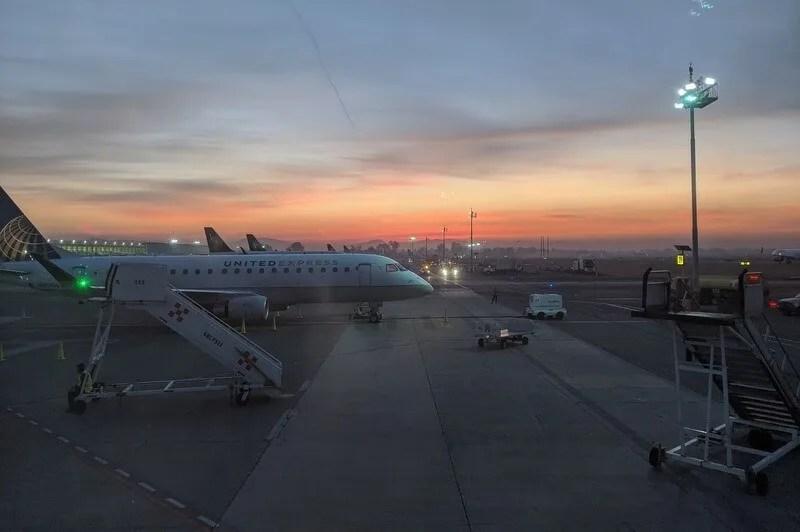 Guadalajara International Airport (GDL) at dawn