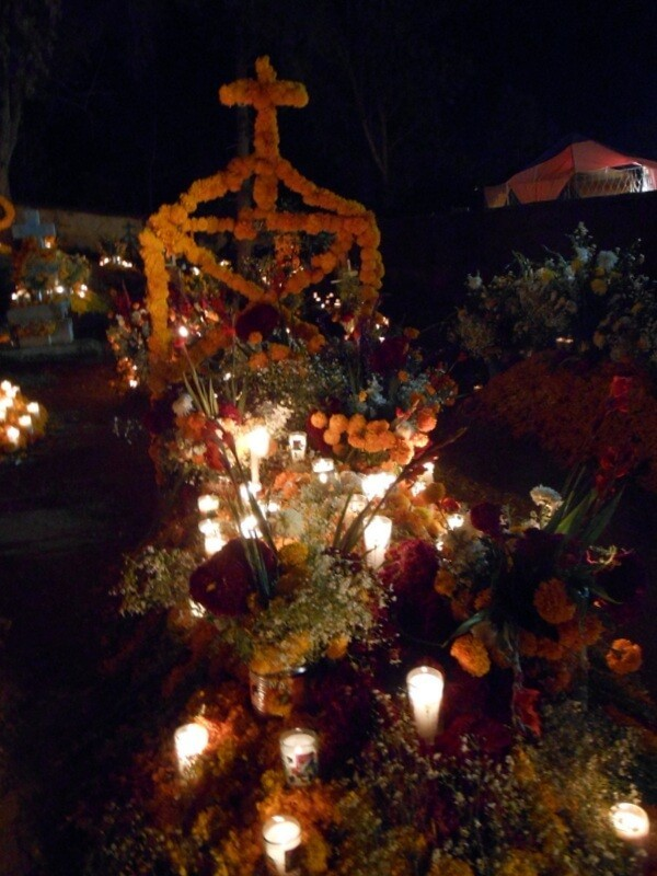 Cemeteries in Patzcuaro for Day of the Dead in Michoacan