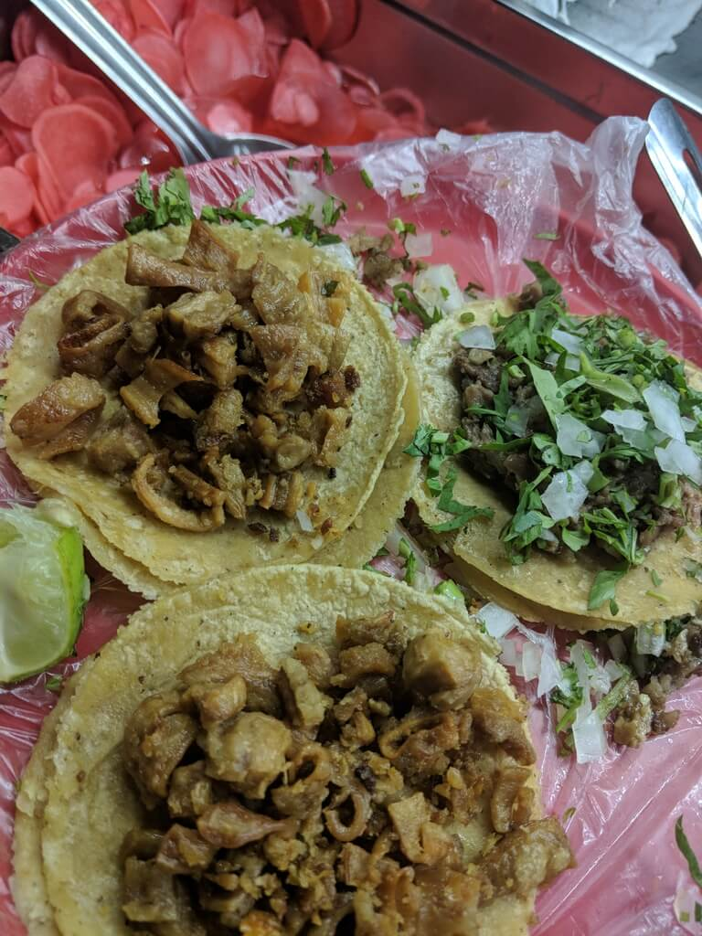 Tripe tacos are some of my favorite types of tacos