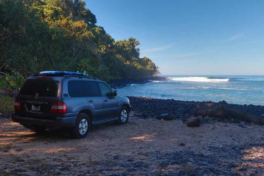 Buying a car in Mexico to surf great waves