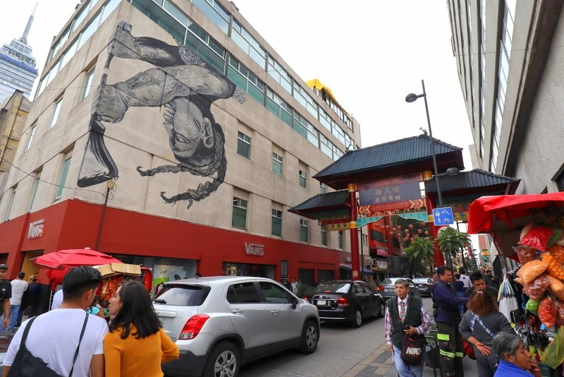 Chinatown Mexico City is the setting for El Complot Mongol