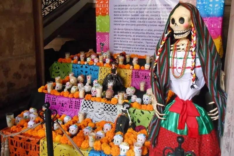 Day of the Dead in Tlaquepaque Jalisco