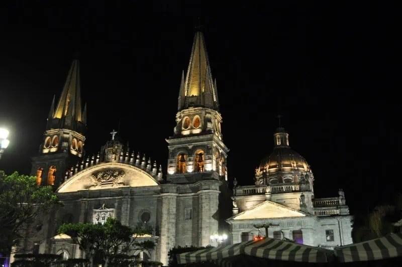 Guadalajara Metropolitan Cathedral on the Romeria de la Virgen de Zapopan