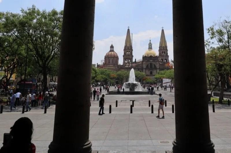 Liberation Plaza in Guadalajara