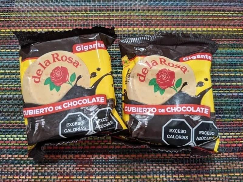 de la Rosa Chocolate covered Mazapan