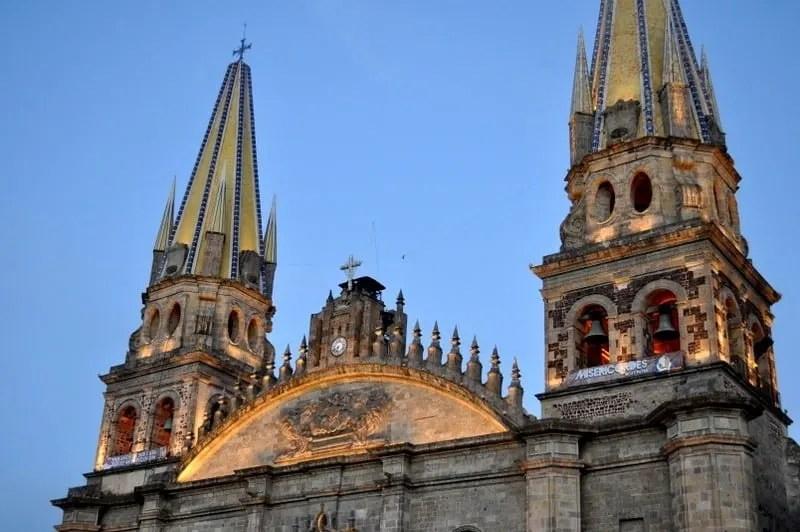 Façade of the Guadalajara Metropolitan Cathedral