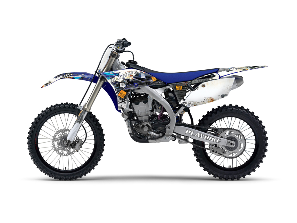 Yamaha Yz250f 450f Industry Graphics Series