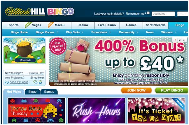 William Hill Bingo