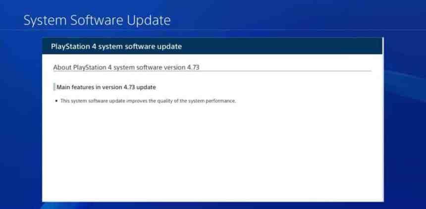 PlayStation 4 - Systemsoftware 4.73 veröffentlicht