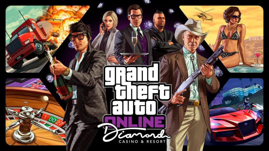 GTA Diamond Casino Resort logo