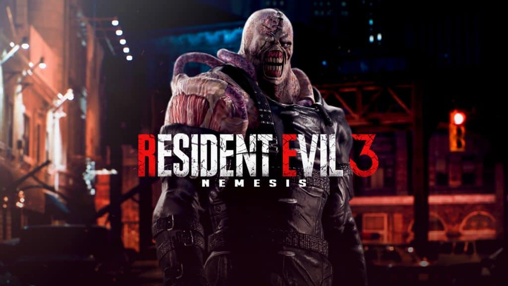 resident evil3 nemesis logo