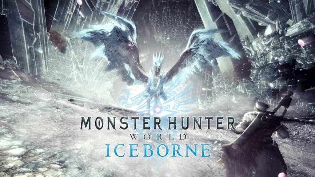 Monster Hunter World Iceborn logo