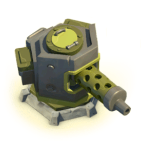 Defensive buildings are used to defend your base against enemy attacks.