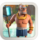 The Tribal Warrior is an awesome sight in battle. He charges fearlessly, knowing that his Crystal Hammer will heal him with every blow.