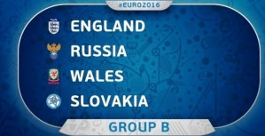 Euro 2016 Group B Standings