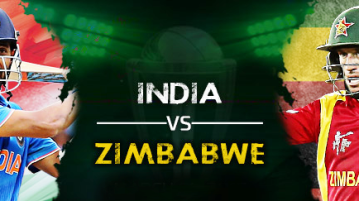 India vs Zimbabwe 3rd T20 Match